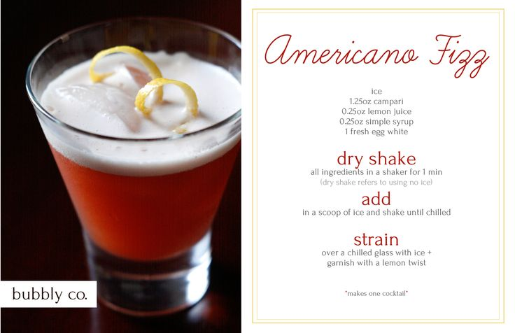 Wake up your taste buds with Campari and lemon juice in this extra tart cocktail.