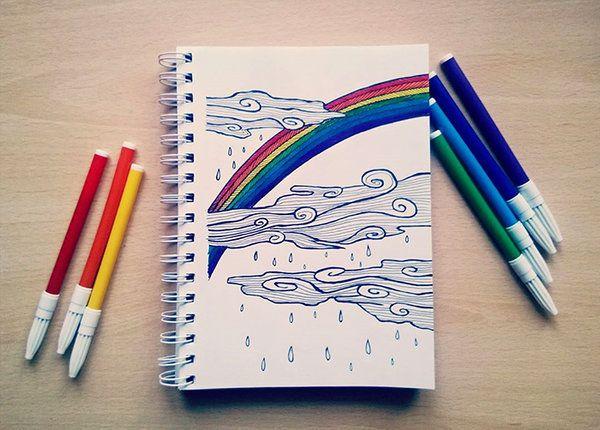Somewhere over the rainbow by eamanee.deviantart.com on @DeviantArt