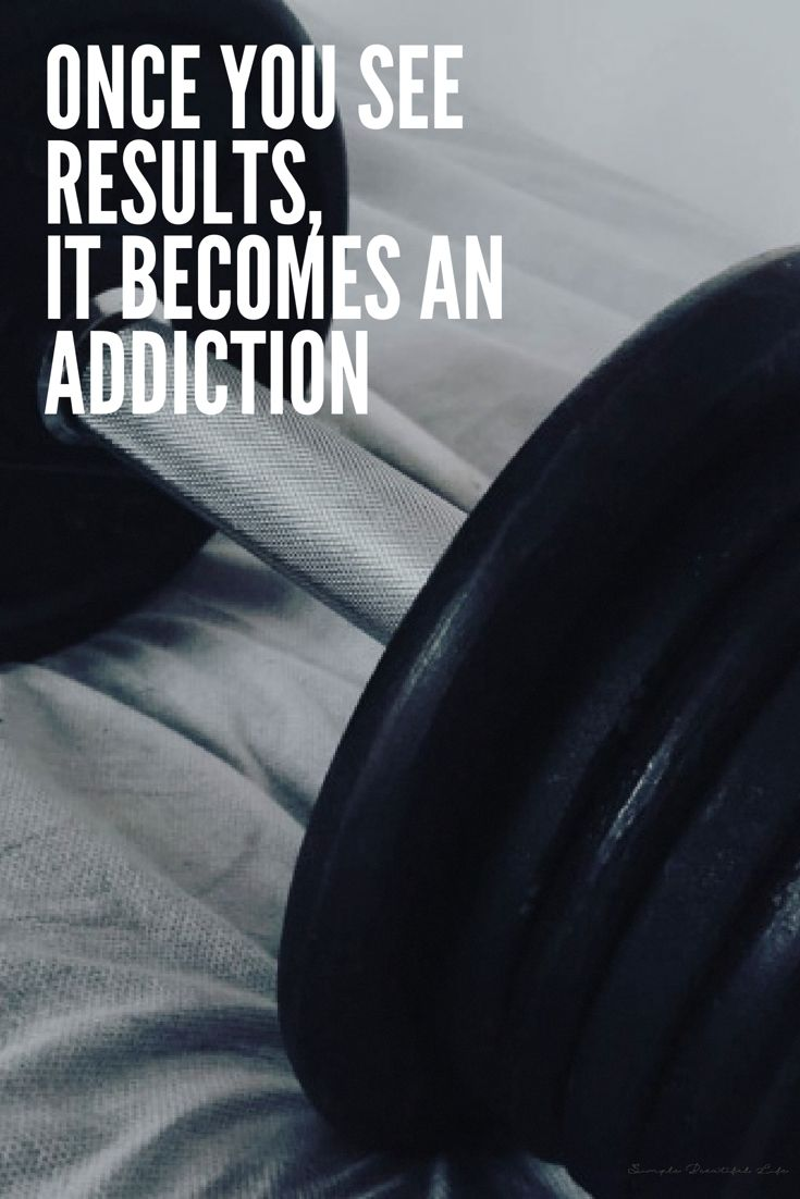 Once you see results, it becomes an addiction. | www.simplebeautifullife.net