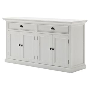 Best Halifax Classic Buffet Table Pure White White 400 x 300