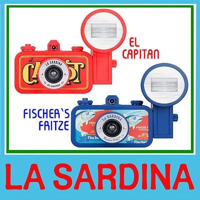 La Sardina camera + flash