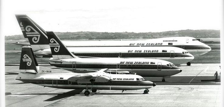 Air New Zealand Vintage family portrait