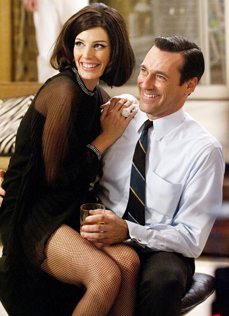 Jessica Pare Jon Hamm Zoom Photo Shared By Arel   Fans Share Images