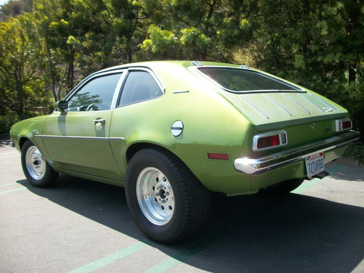 green ford pinto | Pinto Car Club of America - View Pictures For 1972 Turbo Pinto Lowered ...