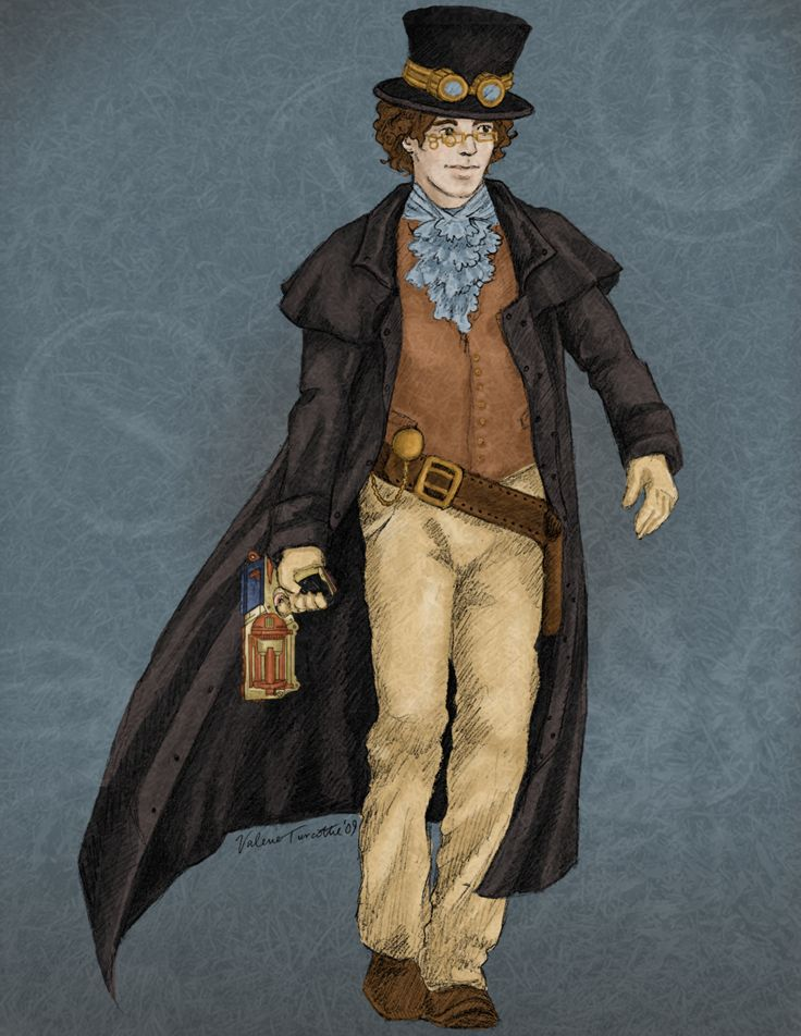 Pix For > Anime Steampunk Guy