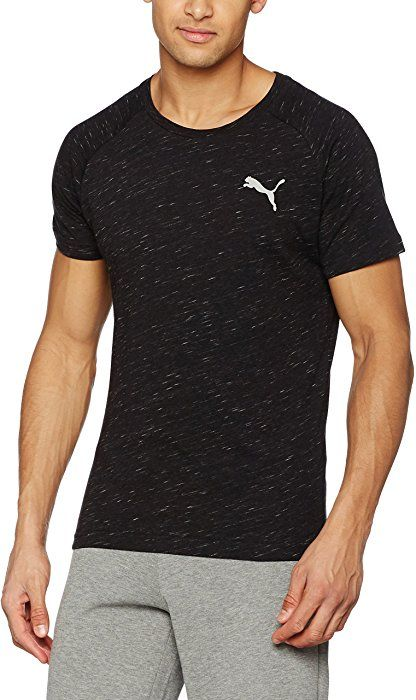 a5bf28e4376f Puma Men s Evostripe Tee Shirt Crew Neck (Medium