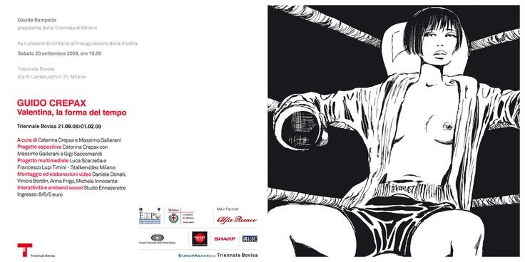 Guido Crepax @ La Triennale di Milano - 10 - X - 08