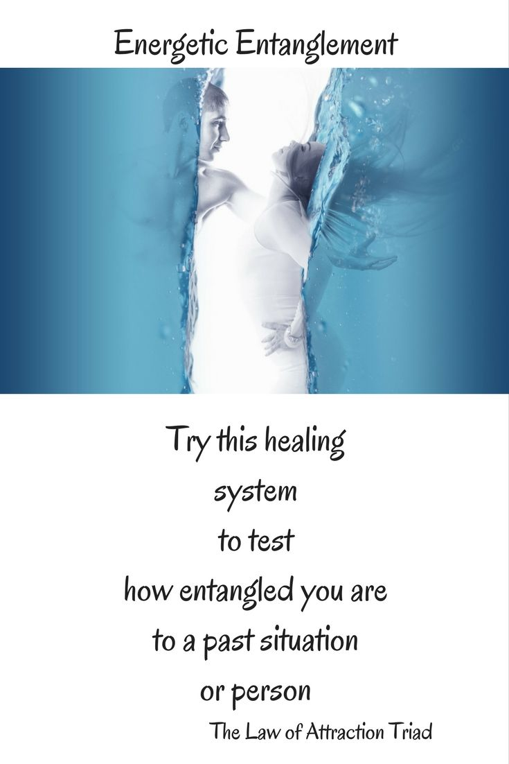 try the Law of Attraction Triad Healing System to clear some of your entangled energy.