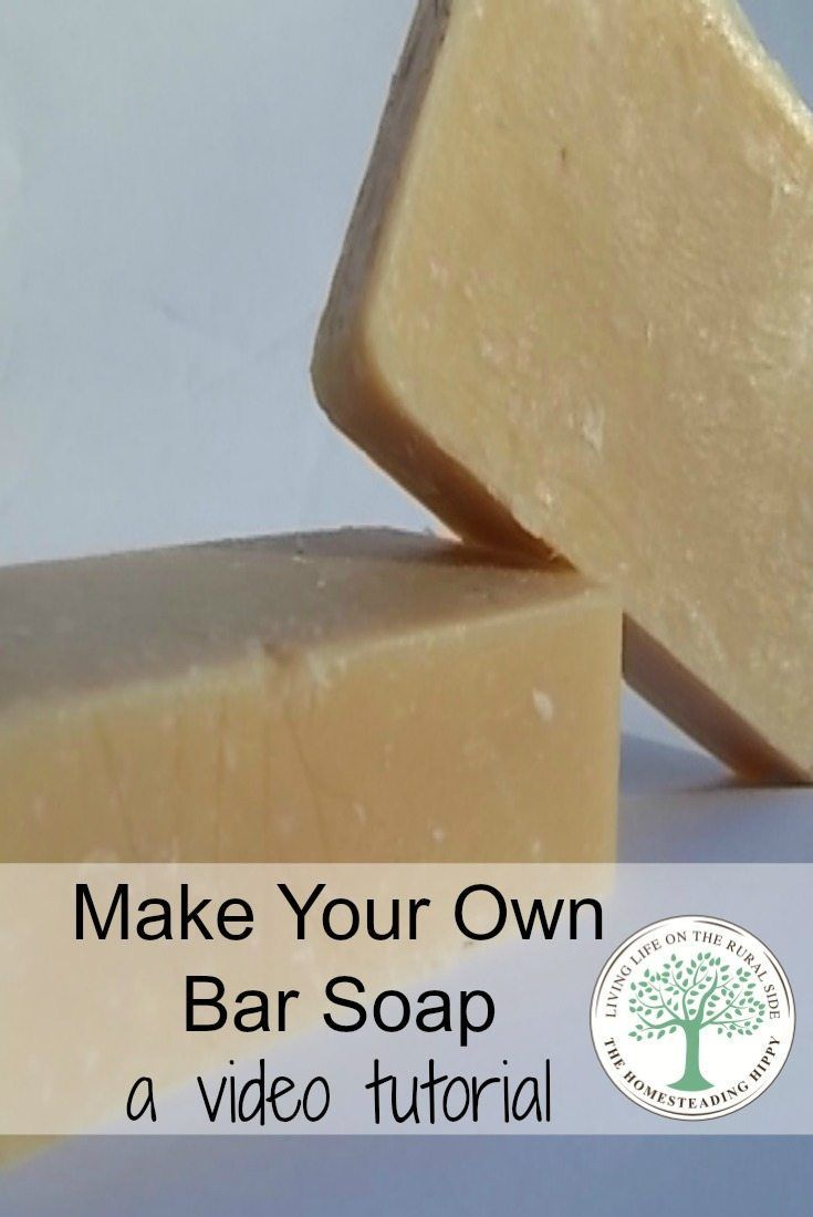 Skip the questionable chemicals in store bought soap, save money and learn to make your own bar soap. This video tutorial will get you on the path, step by step to making your soap in an hour! The Homesteading Hippy