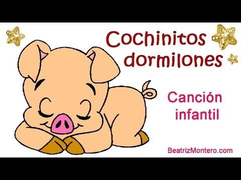 ▶ Cochinitos dormilones - Canciones infantiles - Nanas - YouTube