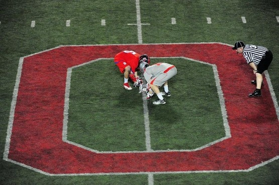 Great picture. Ohio state lacrosse