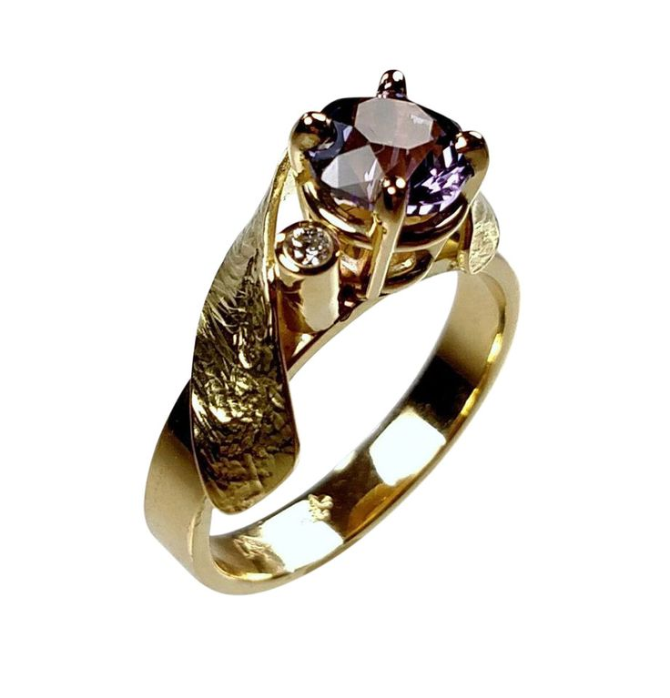 Larry Woods Color Change Sapphire Ring