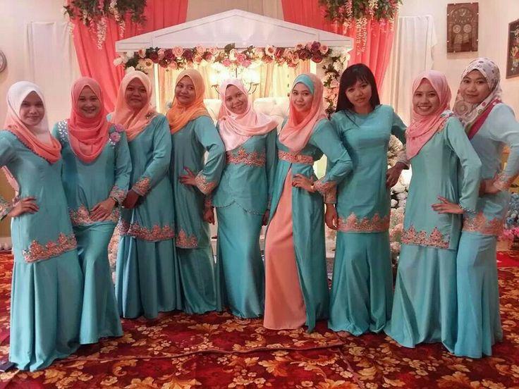 Bridesmaid Dresses For Malay Wedding
