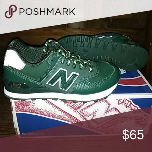 ML574SDG Year of the Snake green New Balance limited edition new in box New Balance Shoes Athletic Shoes