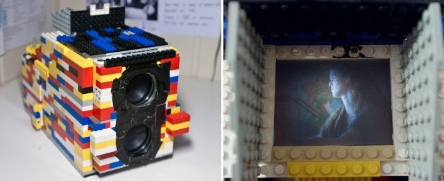 This Twin-Lens Reflex Camera Is Built Out Of LEGO