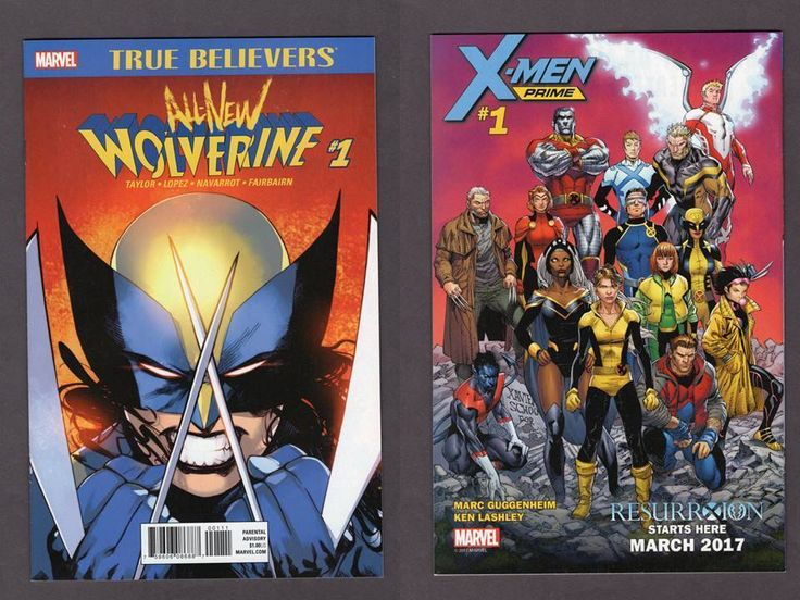 True Believers All-New Wolverine #1 Reprint Marvel 2017 X-23 Tom Taylor | Collectibles, Comics, Modern Age (1992-Now) | eBay!