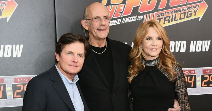 Watch the 'Back to the Future' Cast Reunite After 30 Years -- Michael J. Fox, Christopher Lloyd, Lea Thompson and Claudia Wells reunited in New York City for a screening of the entire 'Back to the Future' trilogy. -- http://movieweb.com/back-to-the-future-30-year-anniversary-reunion/