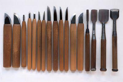 岩野亮介 工房報告: 彫刻刀の研ぎ(クセ物の研ぎ)