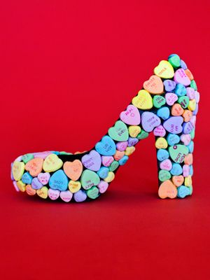 Be mine candy shoes