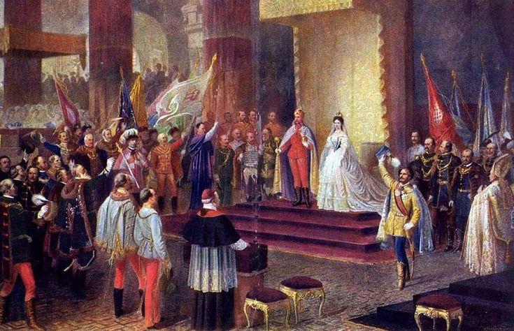 V roku 1867 korunovali Františka Jozefa I. a Alžbetu za uhorského kráľa a kráľovnú. V tom čase ich manželstvo už dávno nefungovalo.