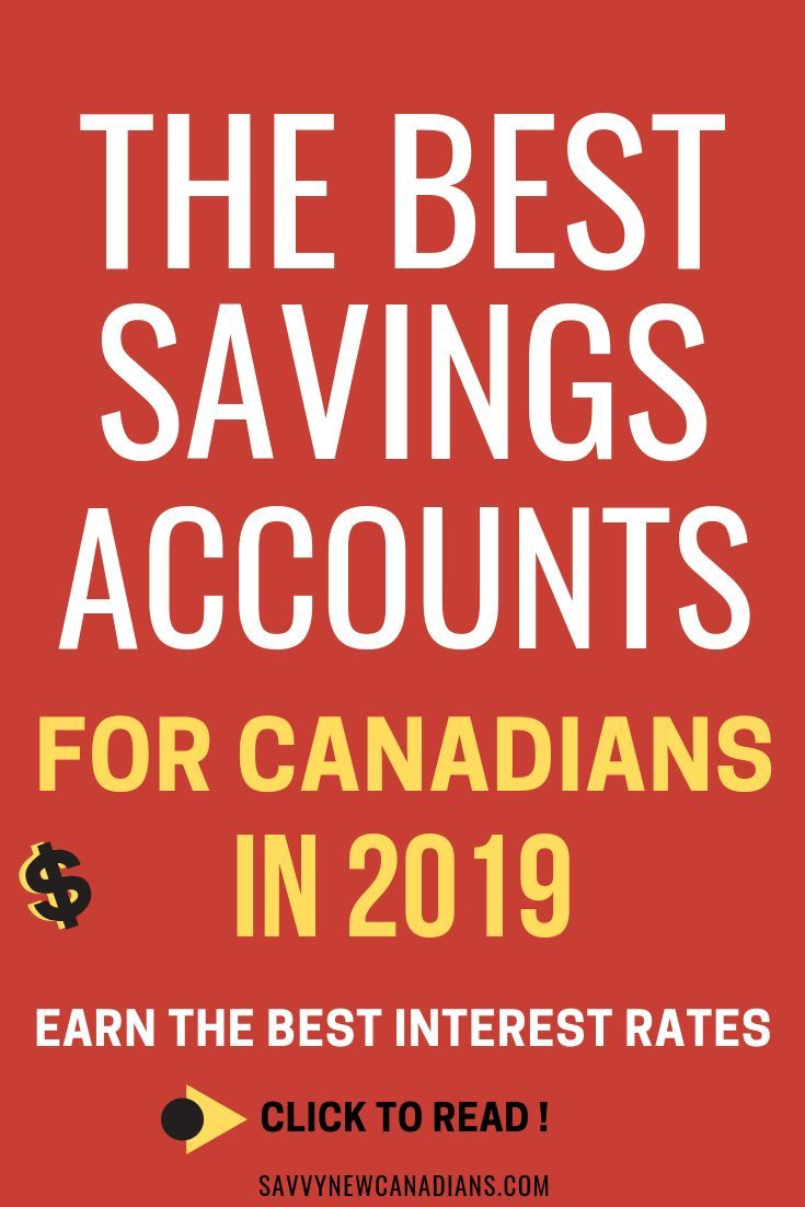 High Interest Savings Accounts In Canada For 2020 Best Savings