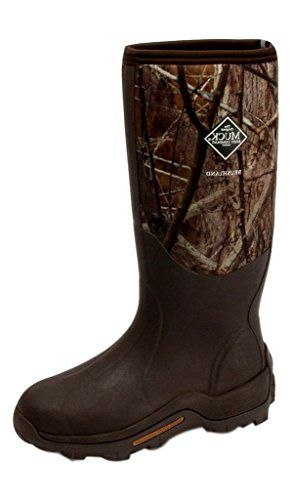 Hunting- Muck Boots Mens Brushlander All-Terrain Hunting 13 Brown Camo WET-AVBB >>> Want to know more, click on the image.