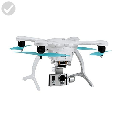 Ehang GHOSTDRONE 2.0 Aerial with 4K Sports Camera, iOS/Android Compatible, White/Blue - Photo stuff (*Amazon Partner-Link)