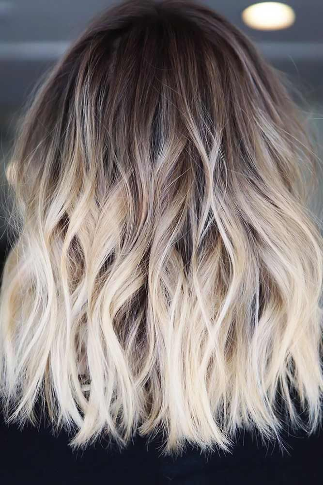 Cold Brunette To Blonde Ombre Shorthair Ombre Short Hair Styles Are Totally Trending At The Moment You Wi In 2020 Short Ombre Hair Short Hair Balayage Hair Styles