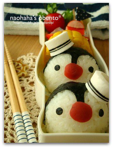 【かんかん便】かんかんチャン、ありがとう~ペンギンのお弁当~|naohaha's obento*