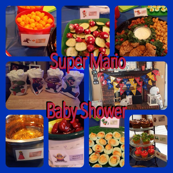 Good Super Mario Bros Baby Shower