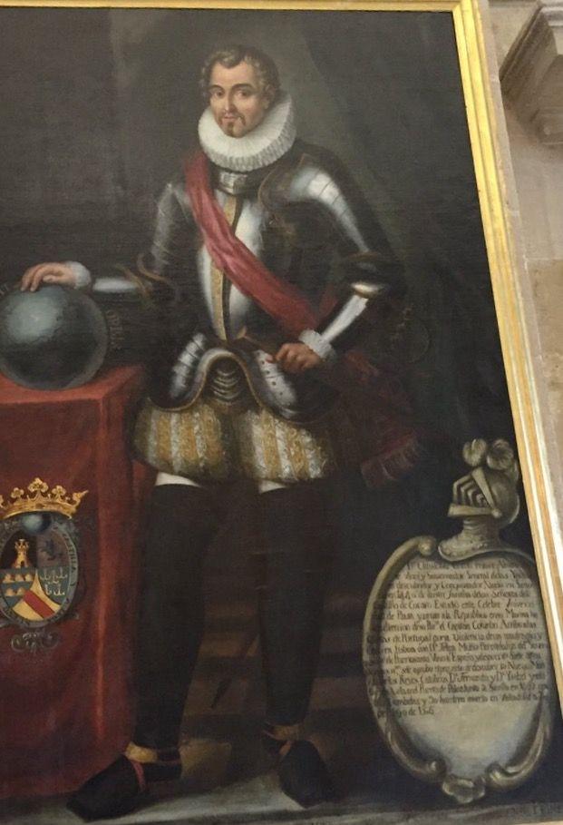 Cristóbal Colón de Toledo (1523-1574)