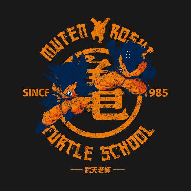 Muten Roshi Turtle School By Raulopez Dragon Ball Dragon Ball Z Dbz