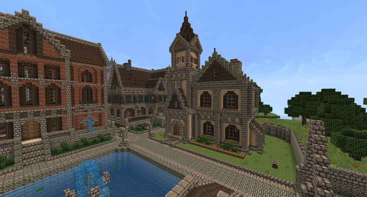 Small corner house : Minecraft