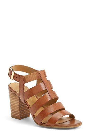 montage leather sandal / franco sarto