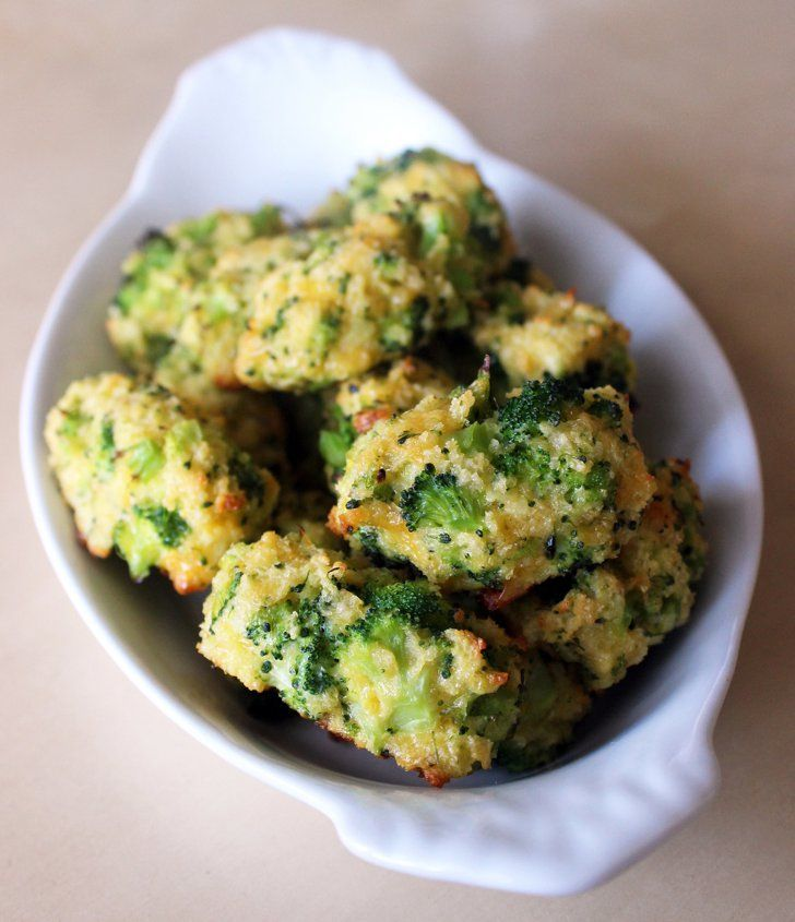 Pin for Later: 14 Healthy Broccoli Recipes That Cover Breakfast, Lunch, and Dinner Broccoli Tater Tots Get the recipe: broccoli tater tots