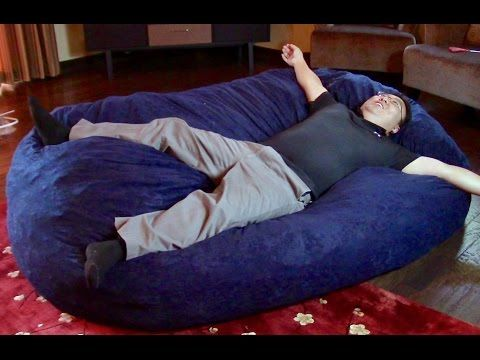 DIY Bean Bag Couch | Crafty myLIFE - YouTube