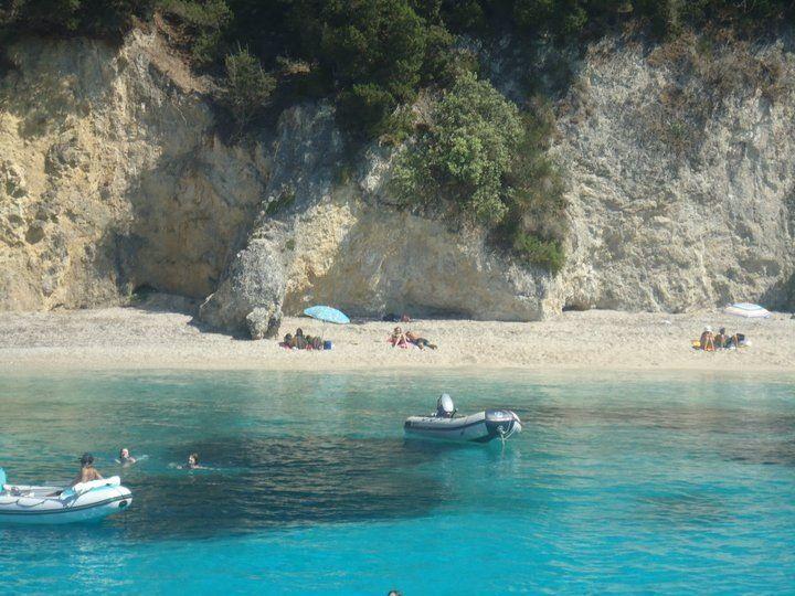 Kavos, Corfu, Greece.