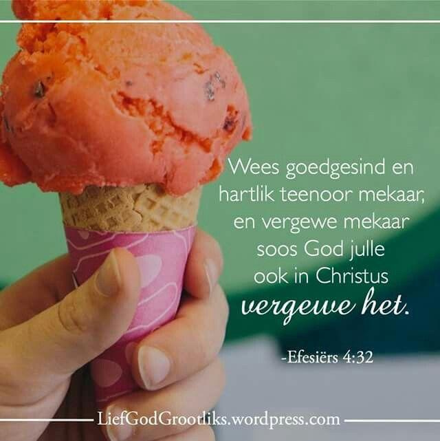 Vriende toon genade teenoor mekaar. In die lig van hoeveel God ons vergewe het, is ons geroep om mekaar aan te moedig en vriendelik te reageer.