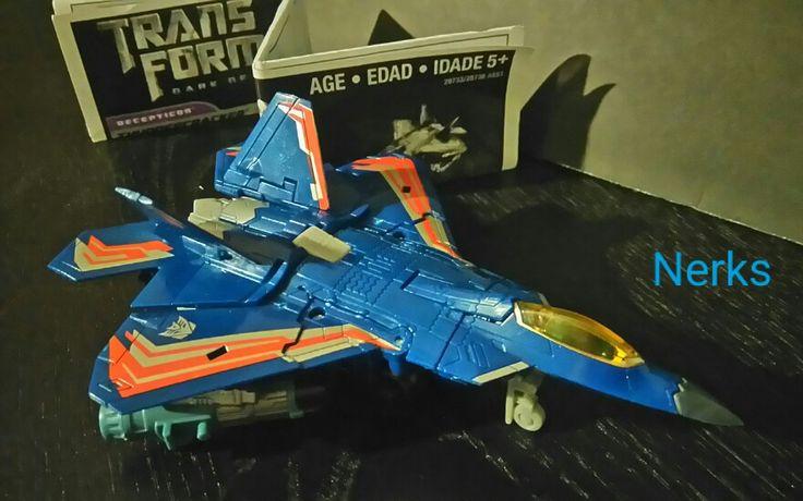 Thundercracker Decepticon Transformers DOTM Mechtech complete 2010 Hasbro. $13.00 CDN +ship.