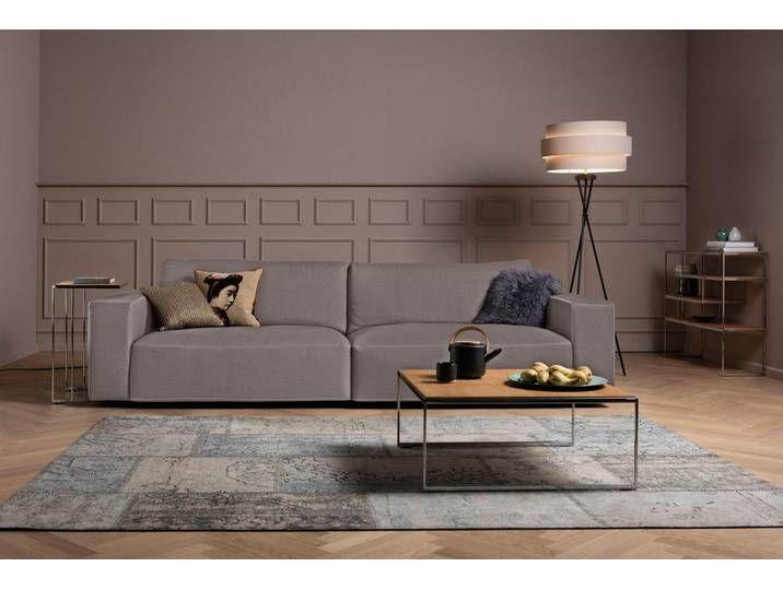 Gallery M Big Sofa Lucia In Vielen Qualitaten Und 4 Unterschiedlichen Nahten 2 5 Sitzer Grau Kontrastnaht Zweinadelnaht Taupe Valmont Diy Furniture Couch Diy Furniture Table Big Sofas