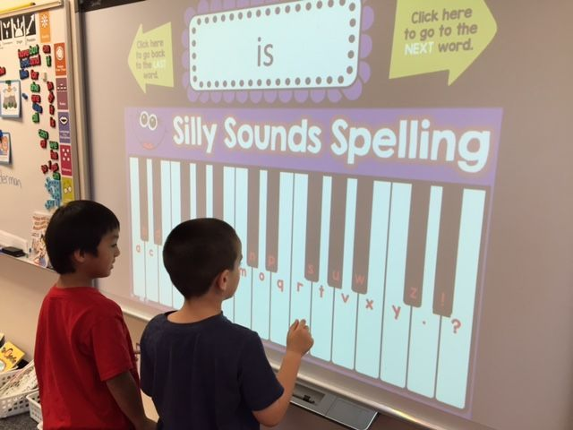 Silly Sounds Spelling!  EDITABLE so you can use your own words.  The kids LOVE this!