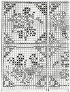 schema copriletto | Hobby lavori femminili - ricamo - uncinetto - maglia