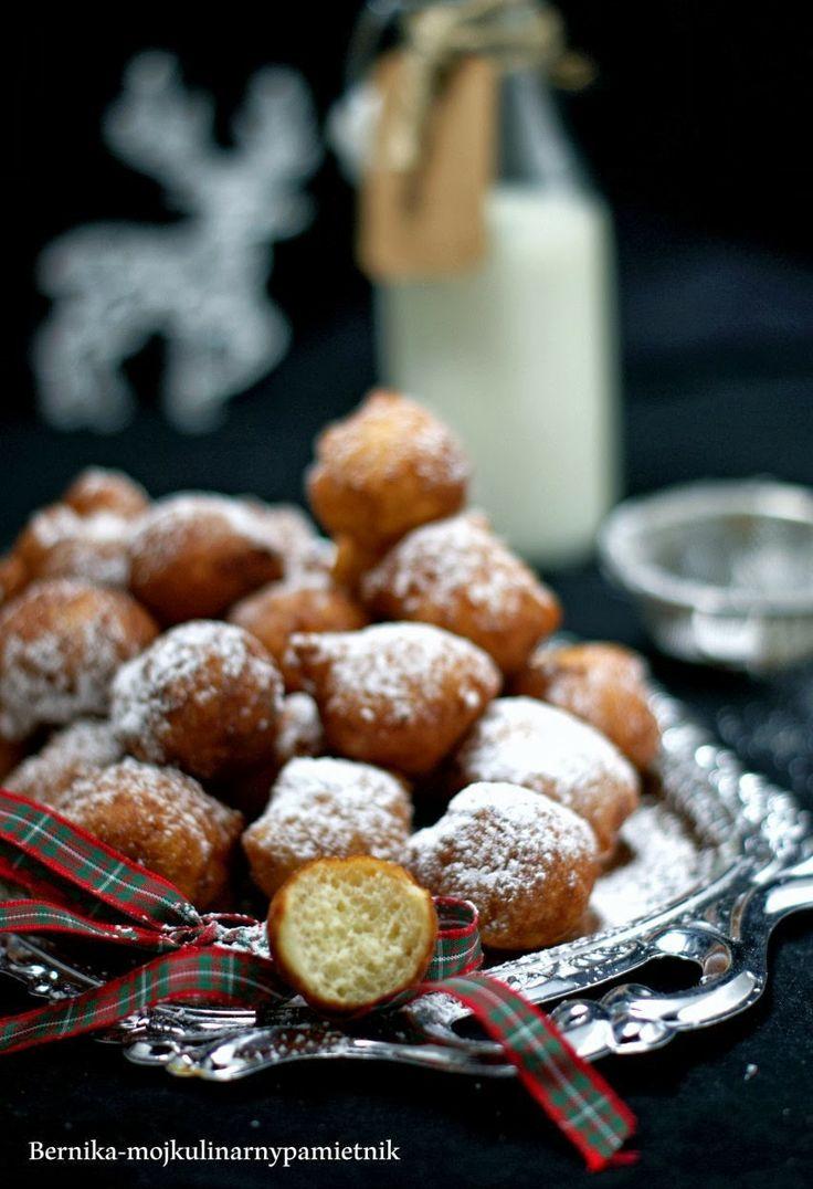 Bernika - mój kulinarny pamiętnik: Mini pączki z serka