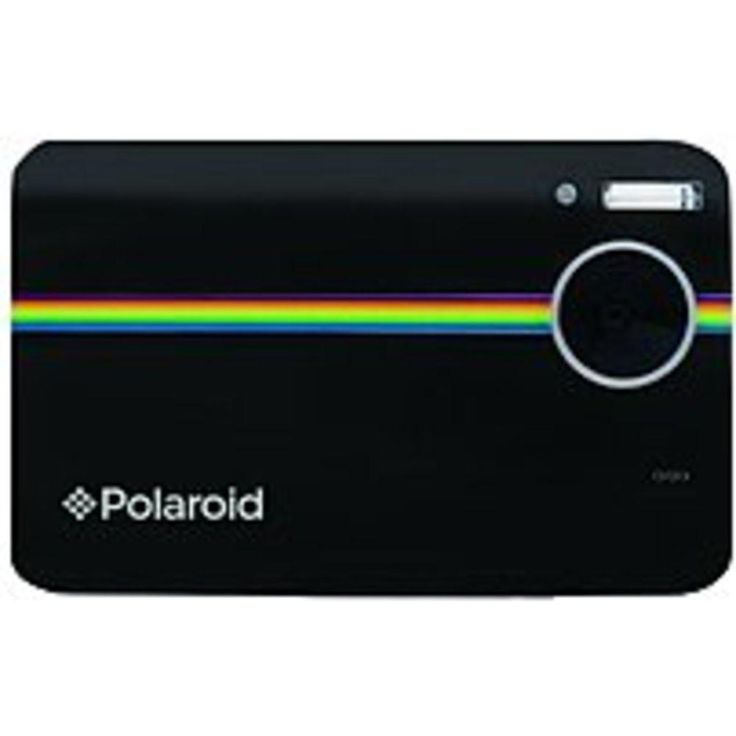 Polaroid POLZ2300B 10 Megapixels Instant Digital Camera - 6x Digital Zoom - 3.0-inch LCD Display - Black
