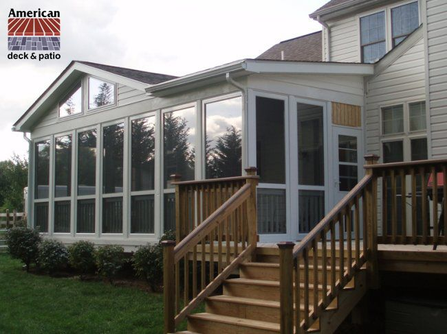mesmerizing living room addition gable roof | Artistic Enclosure. Very large and attractive sunroom ...
