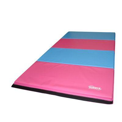 Concertina mat - Pink & Light Blue
