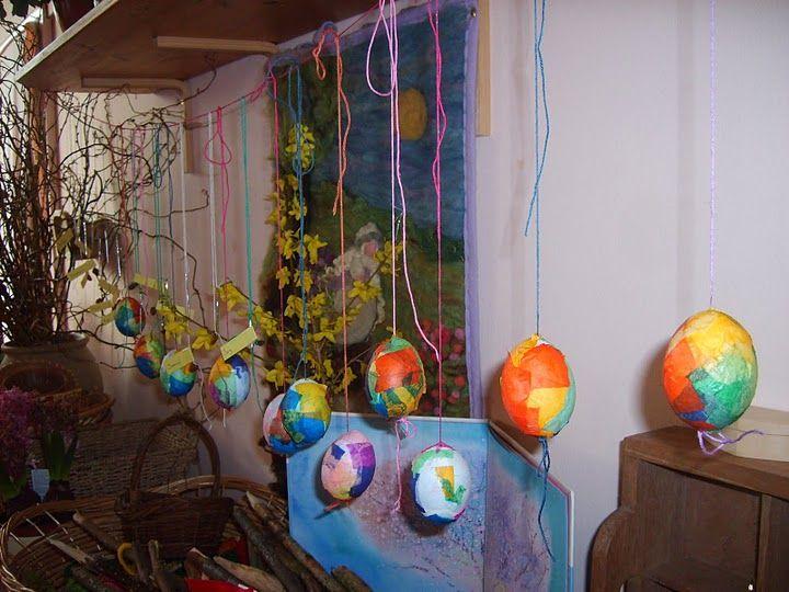 tissue paper eggs | Easter | Pinterest | Tissue Paper, Michael O'keefe