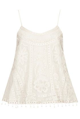 **Swing Crochet Cami Top by Kate Moss for Topshop - Kate Moss for Topshop - Clothing £48.00