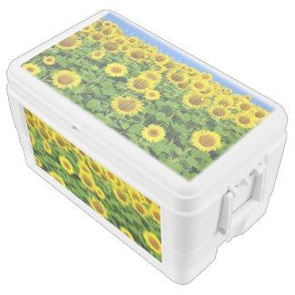Sunflower Fields Igloo Perfect for home or parties on the go personalized