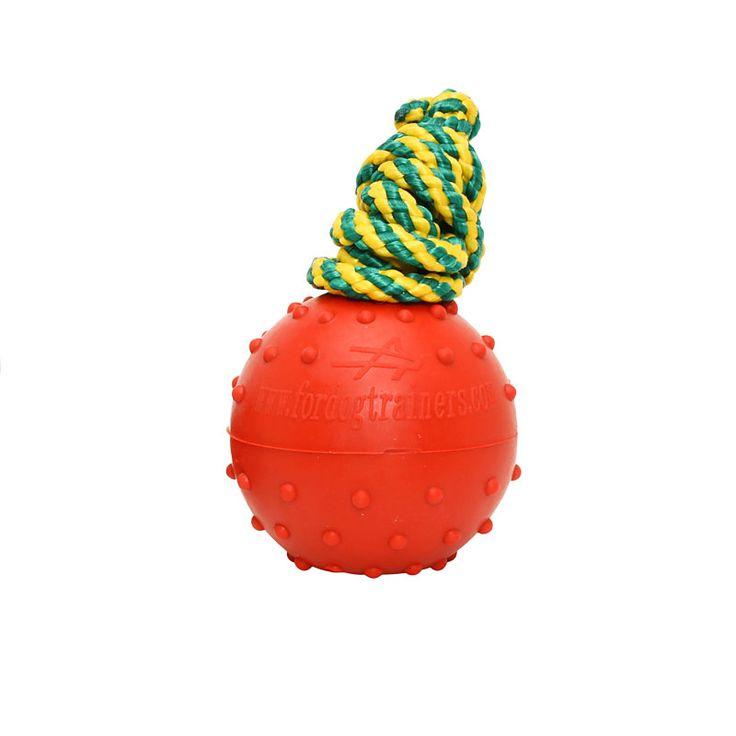 Duża pływająca piłka z twardej i pełnej gumy dla psa zawiera 92 % kauczuku